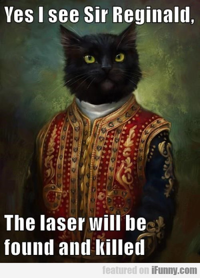 yes i seesir reginald the laser will be