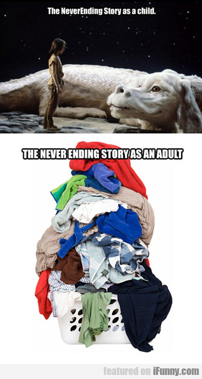 The Neverending Story As A Child...