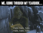 Me, Going Through My Yearbook...