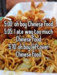 Oh Boy, Chinese Food...