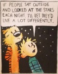 If People Sat Outside And Looked At The Stars
