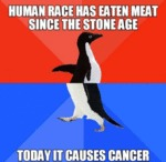 Human Race Has Eaten Meat...