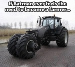 If Batman Ever Feels The Need...