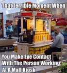 That Terrible Moment When...