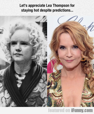 Let's Appreciate Lea Thompson..