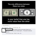 The Only Difference Between These Two Notes...
