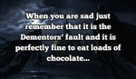 When You Are Sad...