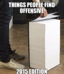 Things People Find Offensive...