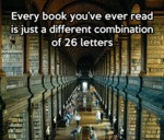 Every Book You've Ever Read...