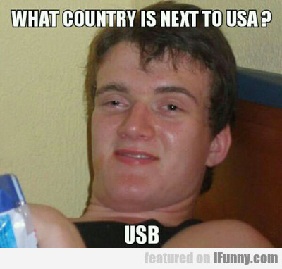 What Country Is Next To Usa...