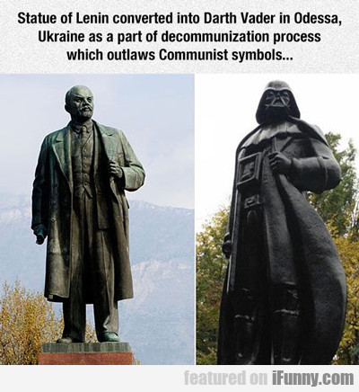 Statue Of Lenin Converted...