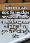 People Are Excited About The New Iphone...