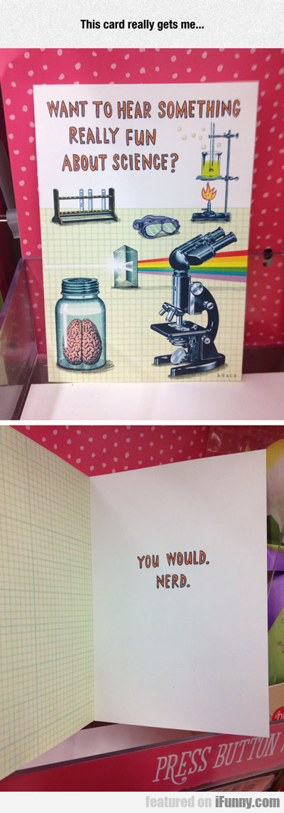 This Card Really Gets Me...