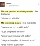 Normal Person Watching Movie...