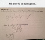This Is Why My Kid Is Going Places...