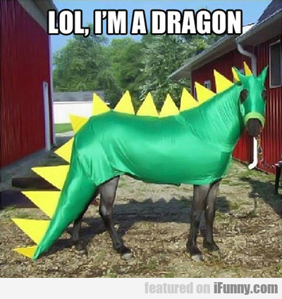 Lol, I'm A Dragon...