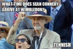 What Time Does Sean Connery...