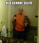 Old School Selfie...