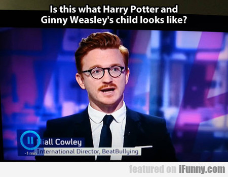 Is This What Harry Potter And Ginny Weasly's...