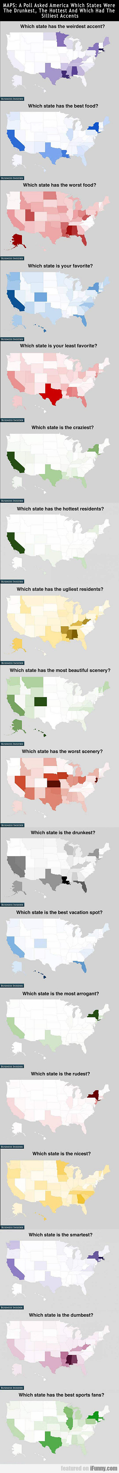 How Americans Feel About Their States