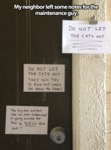 My Neighbor Left Some Notes...