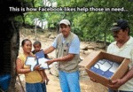 This Is How Facebook Likes Help Those In Need...