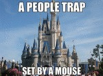 A People Trap Set By A Mouse...