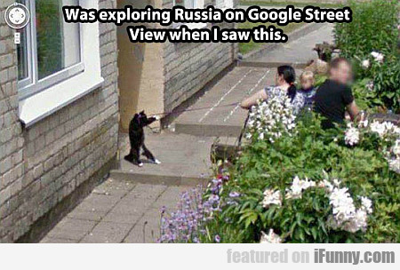 Was Exploring Russia On Google Street View...