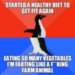 Started A Healthy Diet...