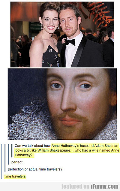 Can We Talk About How Anne Hathaway's Husband?