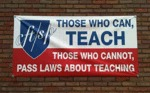 Those Who Can, Teach...