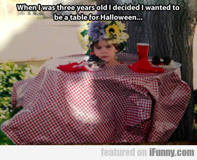 When I Was Three Years Old...
