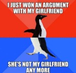I Just Won And Argument...