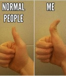 Normal People Vs. Me...