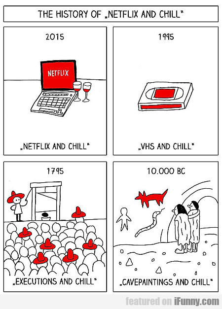 the history of netflix and chill