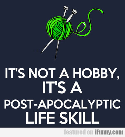 It's Not A Hobby...