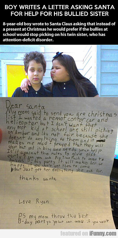 letter to mom boy writes a letter asking santa for help ifunny 1443