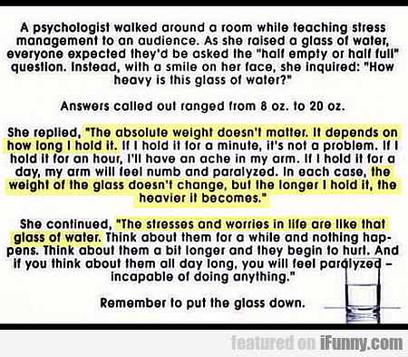 A Psychologist Walked Around A Room While...