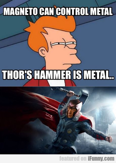 Magento Can Control Metal...