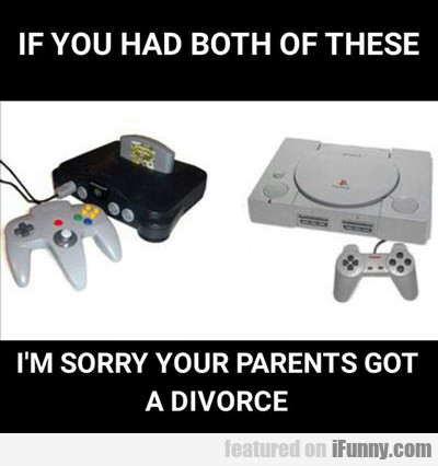 if you had both of these...