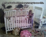 A Friend Walked Into Her Nursery To See This...