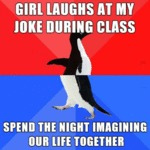 Girl Laughs At My Joke During Class...