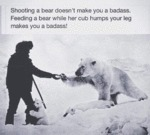 Shooting A Bear...