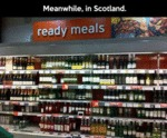 Meanwhile, In Scotland...