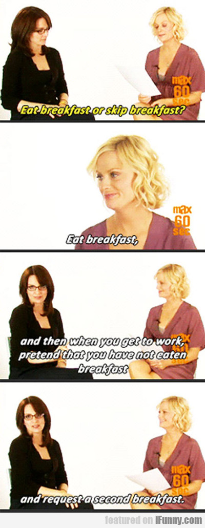 Eat Breakfast Or Skip Breakfast...