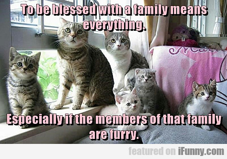 To Be Blessed With A Family Means Everything...