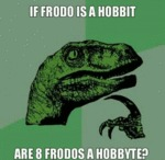 If Frodo Is A Hobbit...