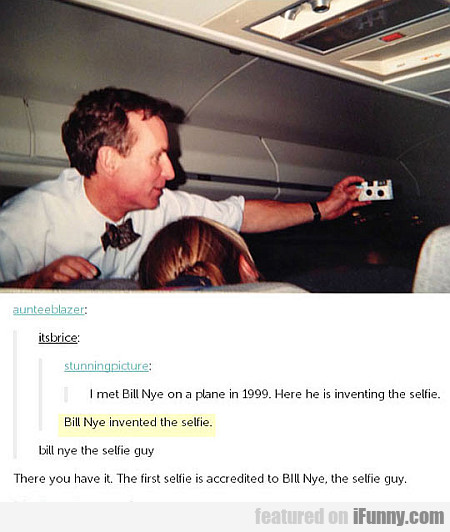 Bill Nye Invented The Selfie (1999)