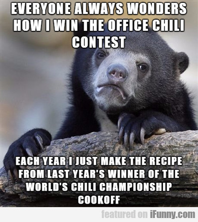 Everyone Always Wonders How I Win The Office...