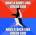Have A Body Like A Greek God...